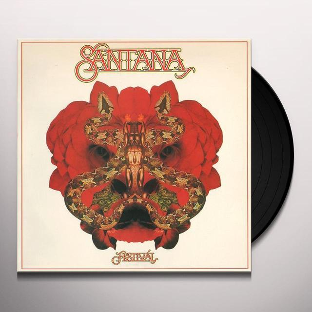 Santana FESTIVAL Vinyl Record - Limited Edition, 180 Gram Pressing, Anniversary Edition