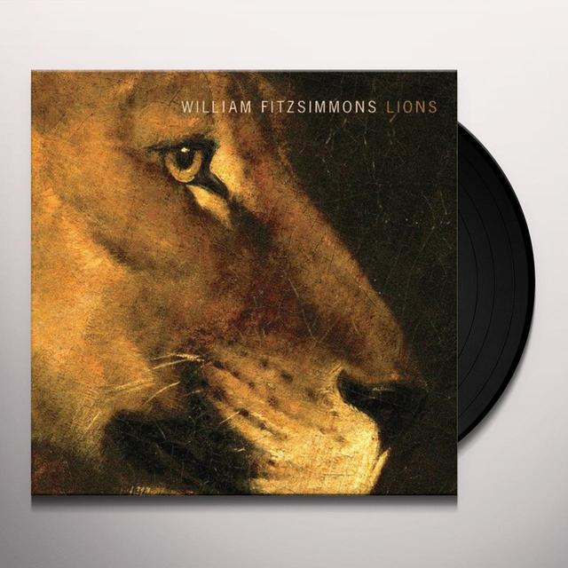 William Fitzsimmons LIONS Vinyl Record - Digital Download Included