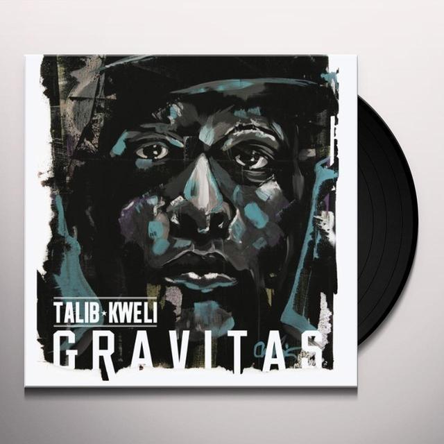Talib Kweli GRAVITAS Vinyl Record