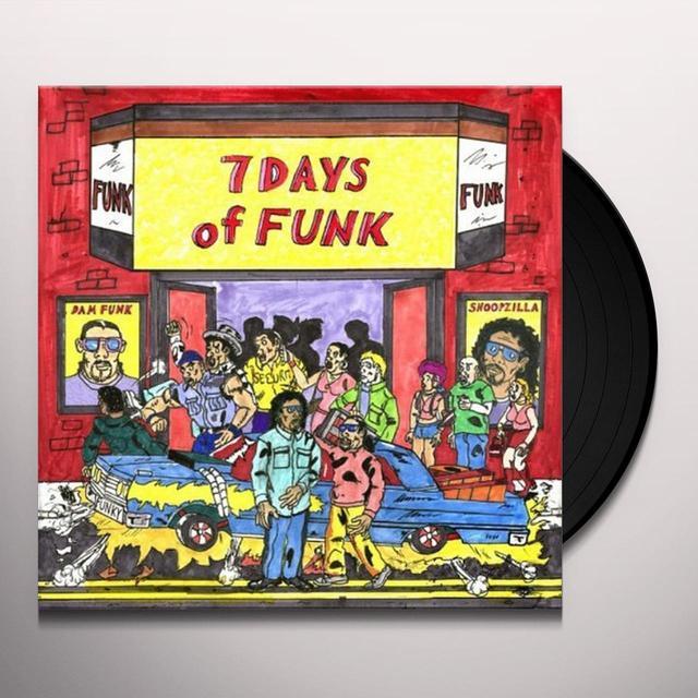 7 Days Of Funk (Dam Funk & Snoopzilla) 7 DAYS OF FUNK (WSV) (BOX) Vinyl Record