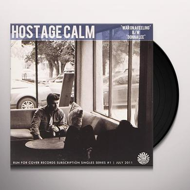 Hostage Calm WAR ON A FEELING Vinyl Record
