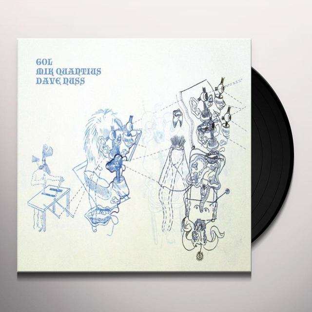 Gol / Mik Quantius / Dave Nuss BRUXELLES Vinyl Record