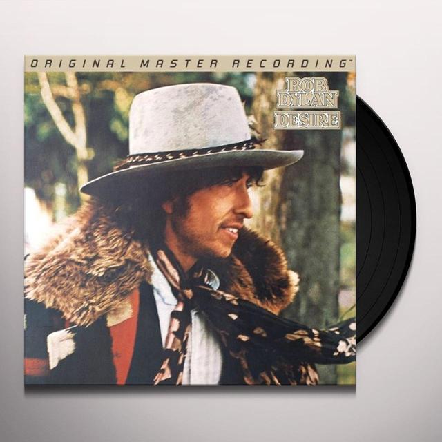 Bob Dylan DESIRE Vinyl Record - Limited Edition, 180 Gram Pressing