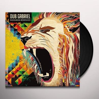 Dub Gabriel RAGGABASS RESISTANCE Vinyl Record