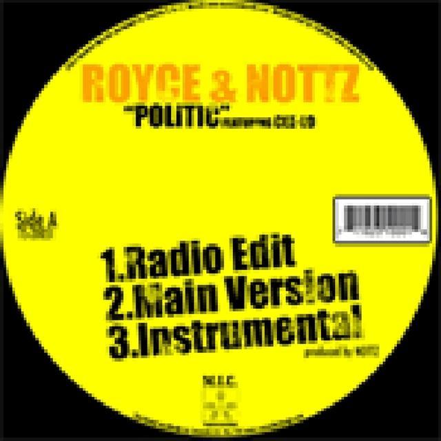 Royce Da 5'9 / Nottz POLITICS Vinyl Record