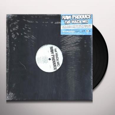 Raw Produce WACK MC Vinyl Record