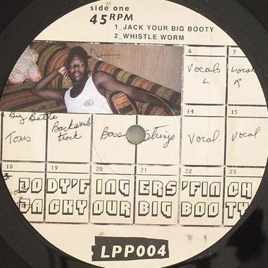 Jody Finch JACK YOUR BIG BOOTY Vinyl Record