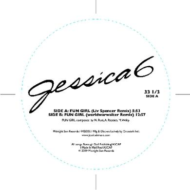 Jessica 6 FUN GIRL REMIXES Vinyl Record