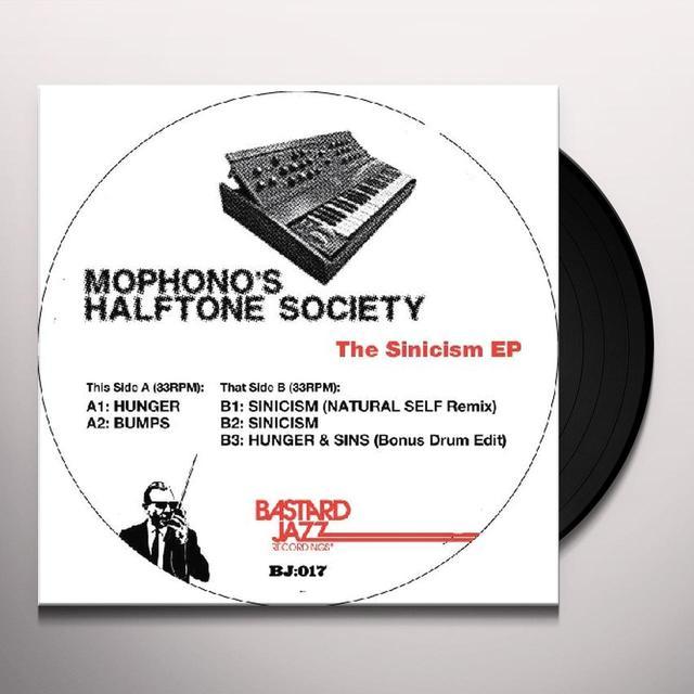 Mophono'S Halftone Society SINICISM EP Vinyl Record