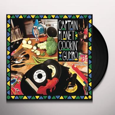 Captain Planet COOKIN GUMBO Vinyl Record