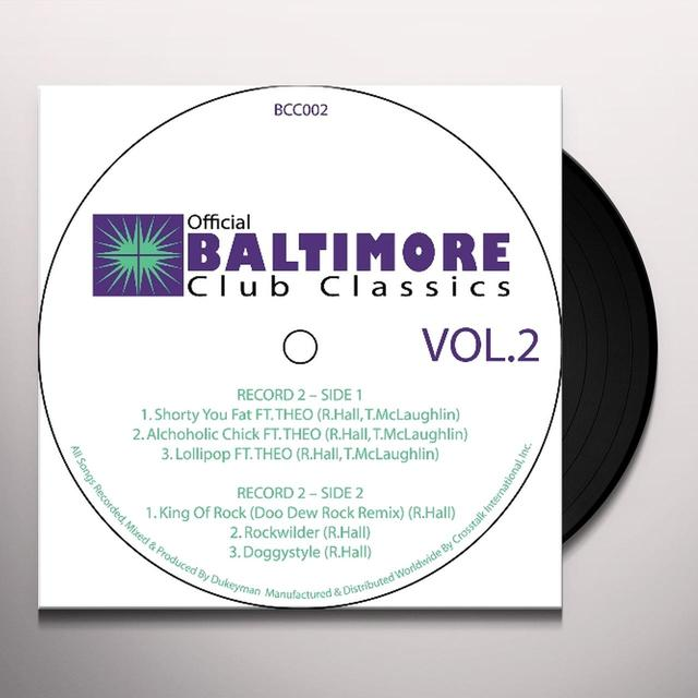 BALTIMORE CLUB CLASSICS 2 / VAR Vinyl Record
