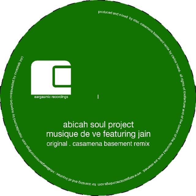 Abicah Soul Project MUSIQUE DE Vinyl Record