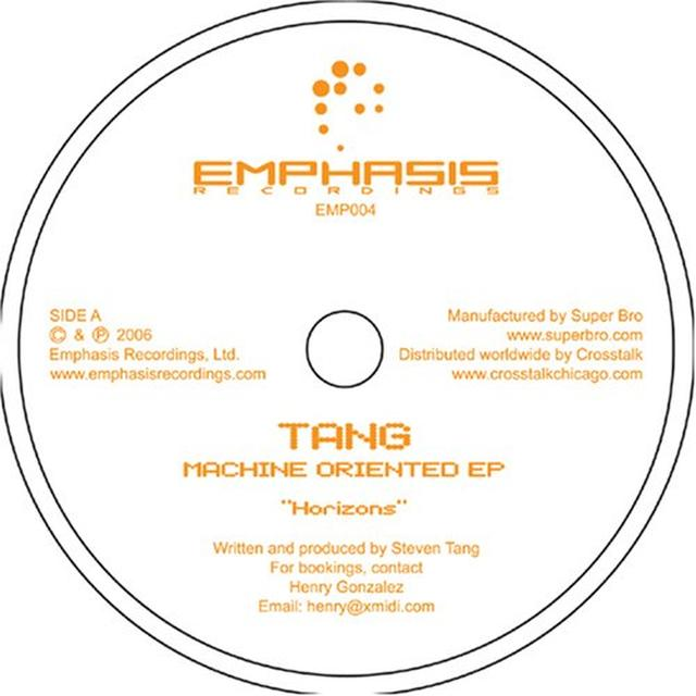 Tang MACHINE ORIENTED Vinyl Record