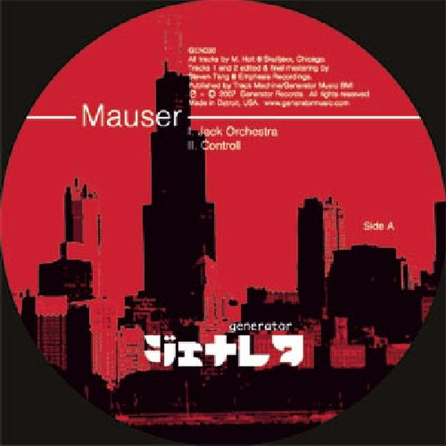 Mauser JACK ORCHESTRA Vinyl Record