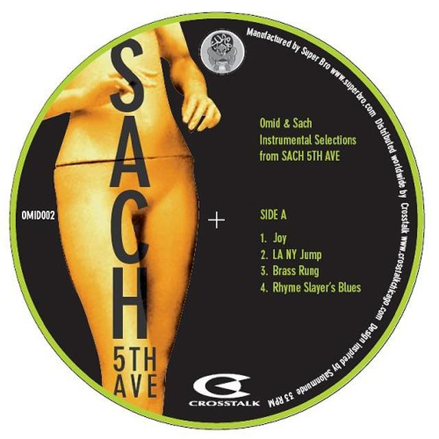 Omid & Sach 5TH AVE INSTROS Vinyl Record