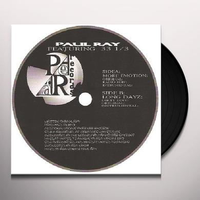 Paul Ray & 33 1 3 Vinyl Record