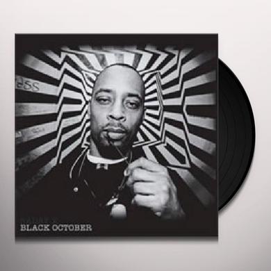 Sadat X BLACK OCTOBER Vinyl Record