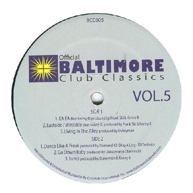 BALTIMORE CLUB CLASSICS 5 / VAR Vinyl Record