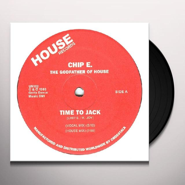 Chip E. TIME TO JACK Vinyl Record