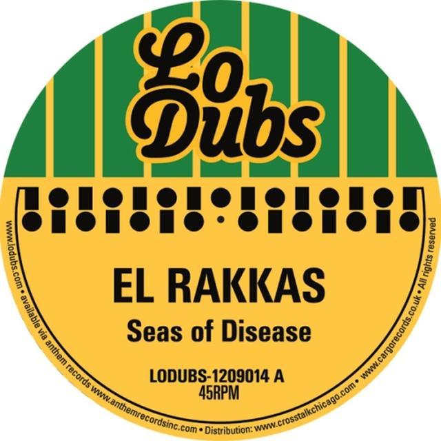 El Rakkas SEAS OF DISEASE Vinyl Record