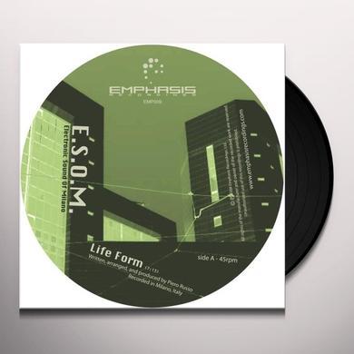 E.S.O.M. LIFE FORM Vinyl Record