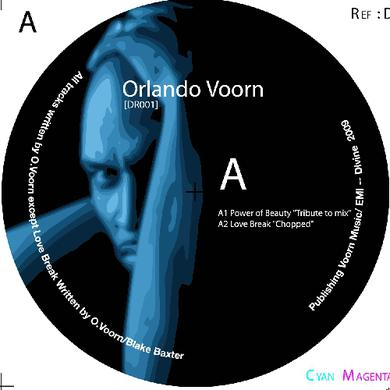 Orlando Voorn POWER OF BEAUTY Vinyl Record