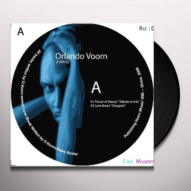 Orlando Voorn POWER OF BEAUTY Vinyl Record