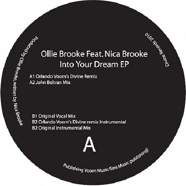 Ollie Brooke INTO YOUR DREAM Vinyl Record