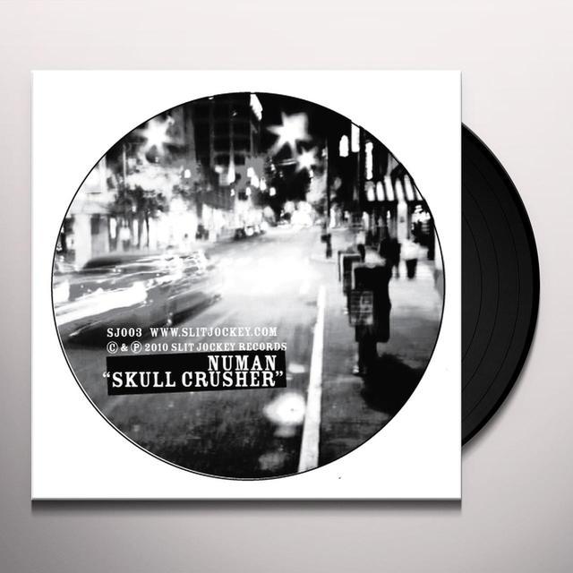 Numan-Sduk SKULL CRUSHER / CLUNGE Vinyl Record