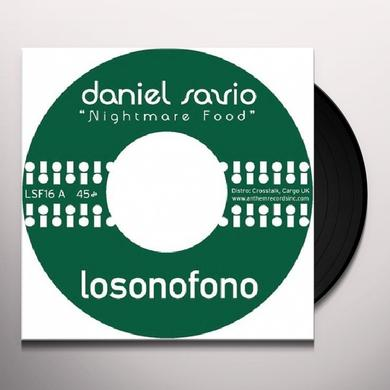 Daniel Savio NIGHTMARE FOOD Vinyl Record