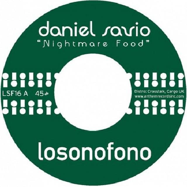Daniel Savio NIGHTMARE FOOD Vinyl Record