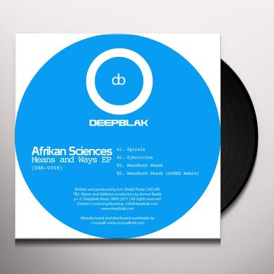 Afrikan Sciences MEANS & WAYS Vinyl Record