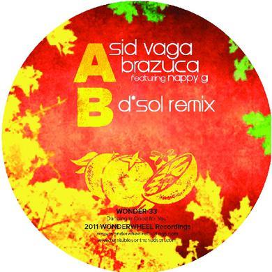 Sid Vaga BRAZUCA Vinyl Record
