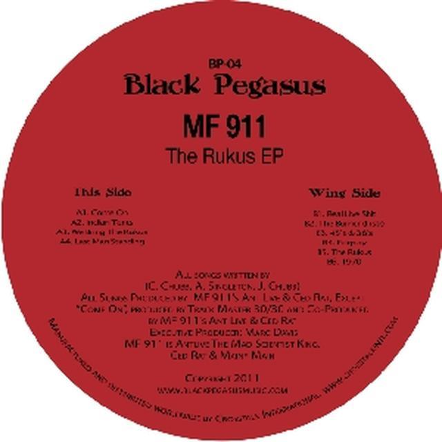 Mf 911 RUCKUS EP Vinyl Record
