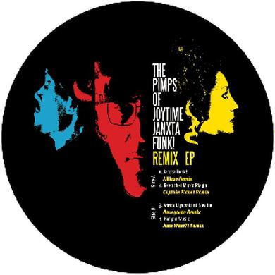Pimps Of Joytime JANXTA FUNK REMIXES Vinyl Record