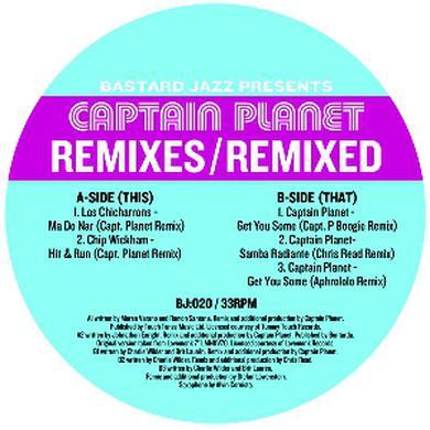 Captain Planet REMIXES: REMIXED Vinyl Record