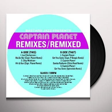 Captain Planet REMIXES: REMIXED Vinyl Record