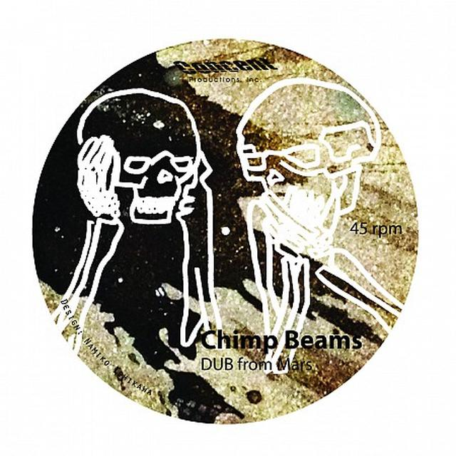 Chimp Beams / Charnel Haus DUB FROM MARS Vinyl Record