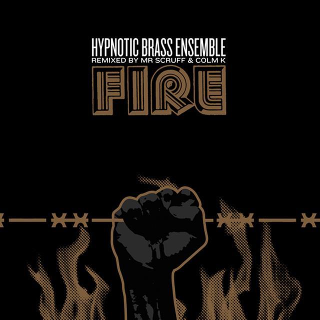 Hypnotic Brass Ensemble FIRE Vinyl Record