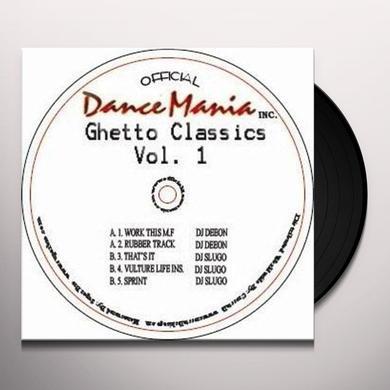 Deeon & Slugo GHETTO CLASSICS 1 Vinyl Record
