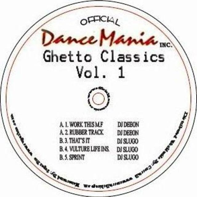 Deeon & Slugo GHETTO CLASSICS 1 Vinyl Record