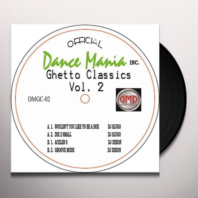 Slugo & Deeon GHETTO CLASSICS 2 Vinyl Record