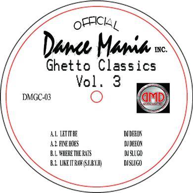 Deeon & Slugo GHETTO CLASSICS 3 Vinyl Record