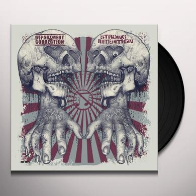 Strong Intention / Department Of Correction SPLIT Vinyl Record
