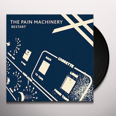 Pain Machinery RESTART Vinyl Record