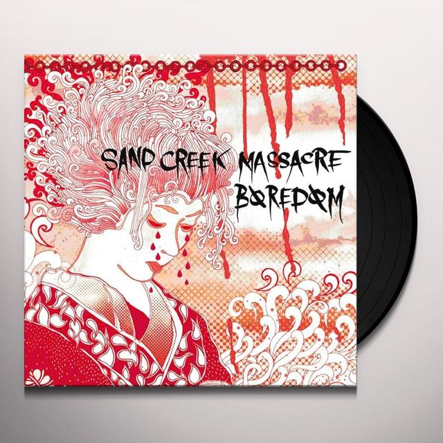 Baredom / Sand Creek Massacre SPLIT Vinyl Record