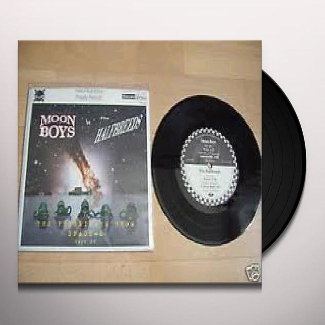 Moon Boys/Halfbreeds SPLIT Vinyl Record
