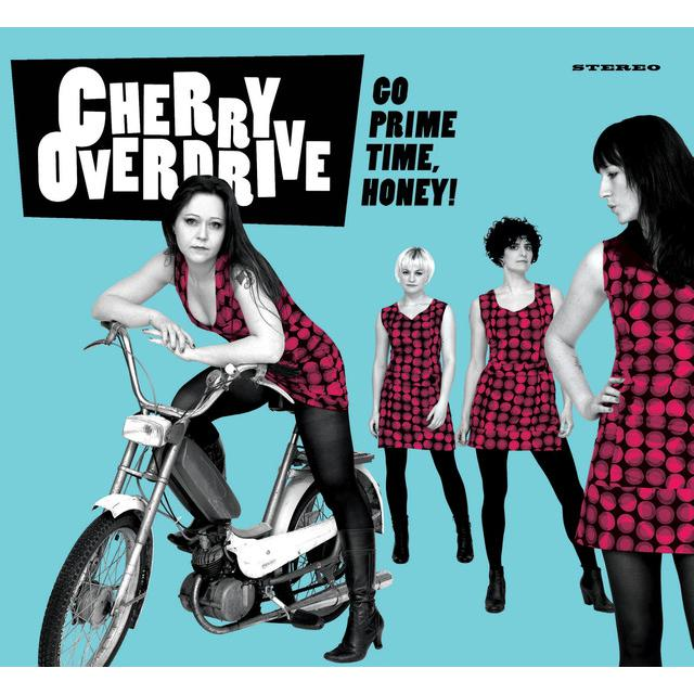 Cherry Overdrive GO PRIME TIME HONEY Vinyl Record