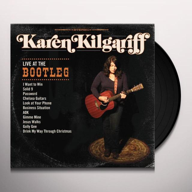 Karen Kilgariff LIVE AT THE BOOTLEG Vinyl Record