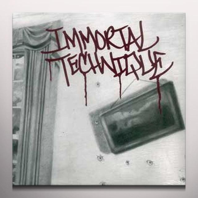 Immortal Technique REVOLUTIONARY 2 Vinyl Record - Colored Vinyl